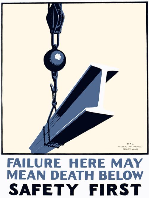 death-below-safety-poster