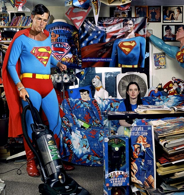 Segal - Superman takes care of the vacuuming