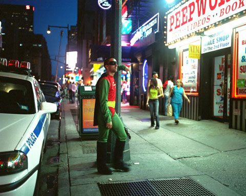 ERNESTO MENDEZ from Mexico City works as a gigolo in Times Square New YorkHe sends 200 dollars a week