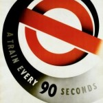 A train every 90 seconds, by Abram Games, 1937