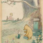 Christopher Robin at the Enchanted Place, E.H. Shepard, 1928