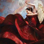 Flamenco, Francisco Jose Albert Albusac, 2011 - Digital Painting