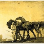 Harvest, by Joseph Walter West, 1916