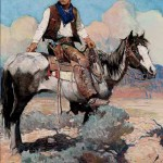 Tex & Patches, Frank Earle Schoonover, 1925