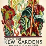 The Palm - House Kew Gardens, by Clive Gardiner, 1926