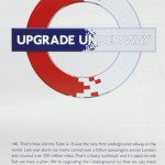 Upgrade underway, by Jonathan Tobin and agency Me Company, 2011