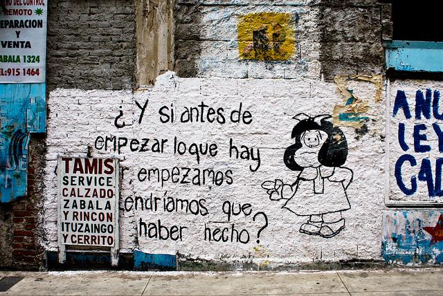 streetart mafalda