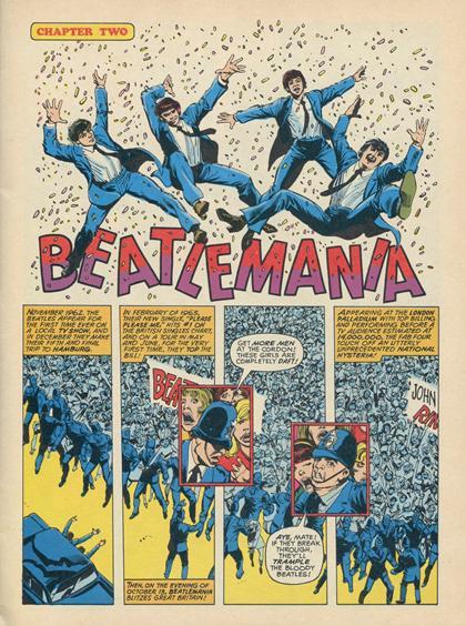 Beatles Marvel Super Special Interno