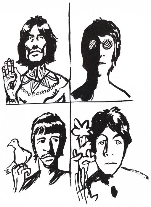 Il piccolo libro dei Beatles - interno