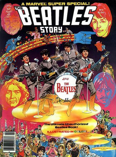 Beatles Marvel Super Special