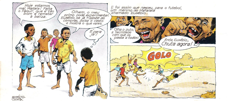 Eusebio Pantera Negra - di Eugenio Silva